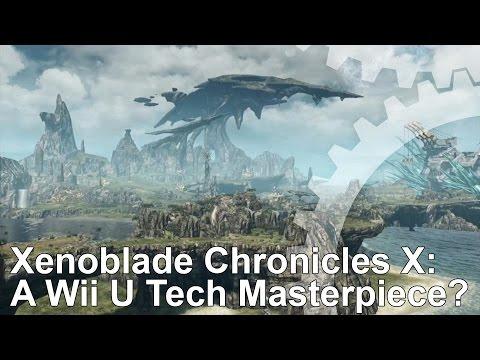 Xenoblade Chronicles X Wii U Tech Analysis/Frame-Rate Test
