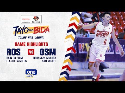 Rain or Shine vs Ginebra | 2021 PBA Philippine Cup Highlights - Sept 8, 2021