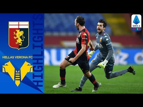 Genoa 2-2 Hellas Verona | Badelj riprende l'Hellas nel recupero | Serie A TIM