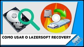 Como usar o Lazersoft Recovery (Reset de senha, Clonagem e Ferramentas de recuperação Windows).