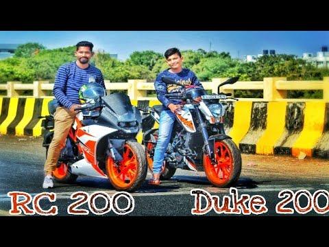 KTM DUKE 200  vs KTM RC 200 |Drag race| Highway Race| walkaround| Ajay Motovlogs
