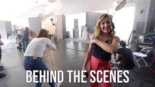 Behind-the-Scenes at a Bridal Photo Shoot