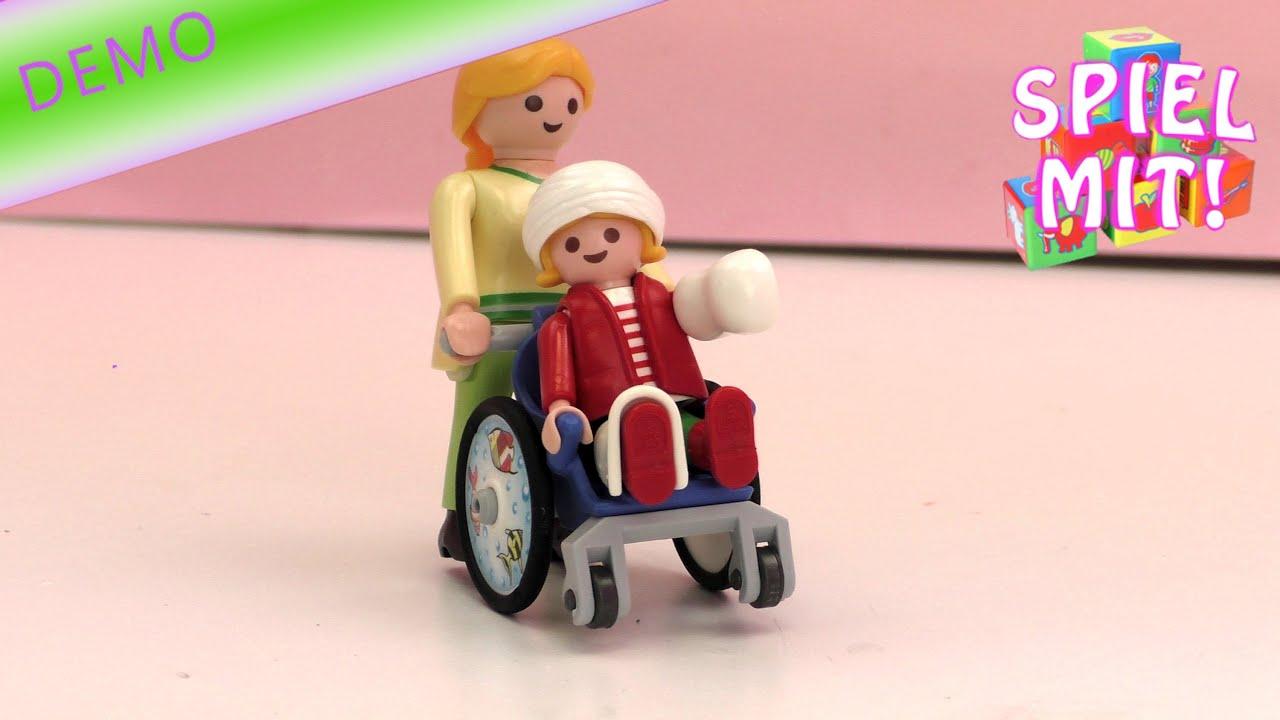 Playmobil Kinderrollstuhl 4407 Unboxing Und Review Kind Kommt