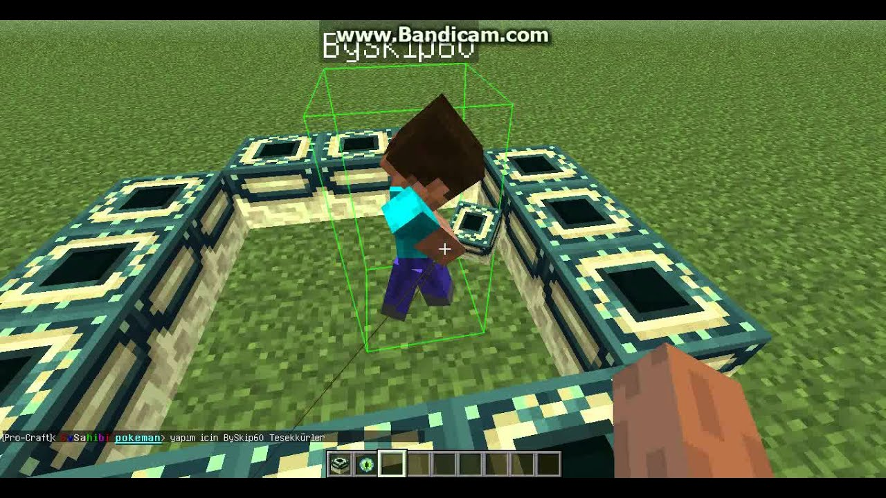 how to make the end in minecraft