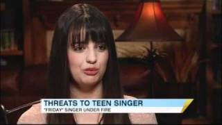 Rebecca Black Receives Death Threats