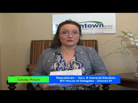 Cindy Frich, Republican nominee, WV House of Delegates