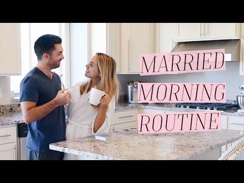 MARRIED MORNING ROUTINE   ALEXANDREA GARZA