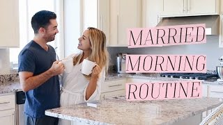 MARRIED MORNING ROUTINE | ALEXANDREA GARZA