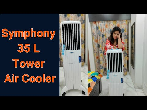 Symphony Diet 35 L Tower Air Cooler   Symphony Air Cooler   Summer Cooler  Diet Series