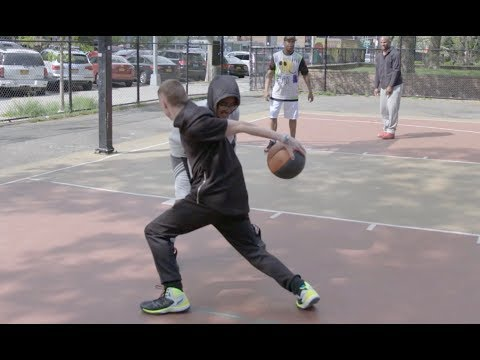 What is the definition of STREETBALL? Professor Hooping in NYC! | Court Coverage