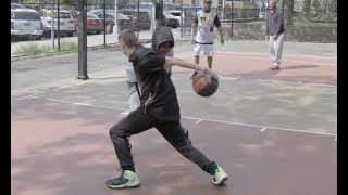 What is the definition of STREETBALL? Professor Hooping in NYC! | Court Coverage thumbnail