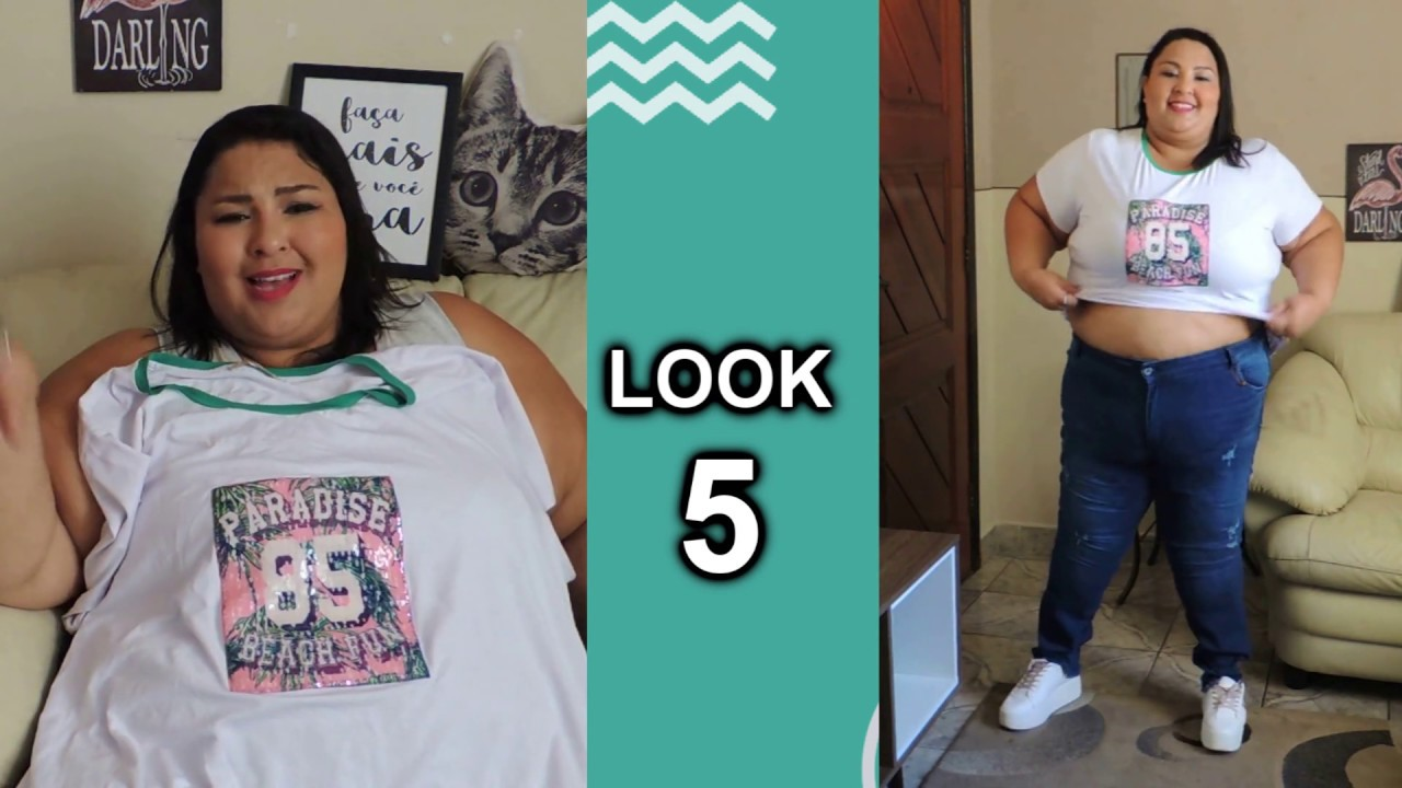 53a0b4eec81d Moda para Gordinhas - 5 Looks Plus Size da Júlia Plus - YouTube