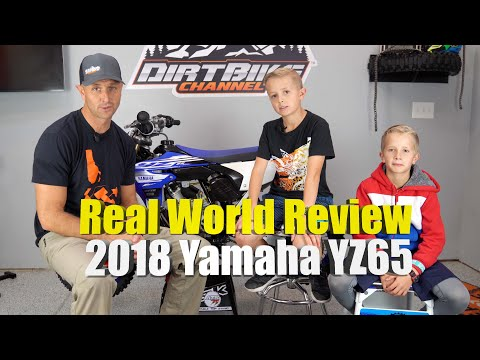 2018 Yamaha YZ65 Full Review For Riding Trails and Off Road