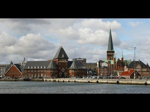 Aarhus, Denmark, 25 Februarу 2016, video 2 (Denver AC-1300 action cam).