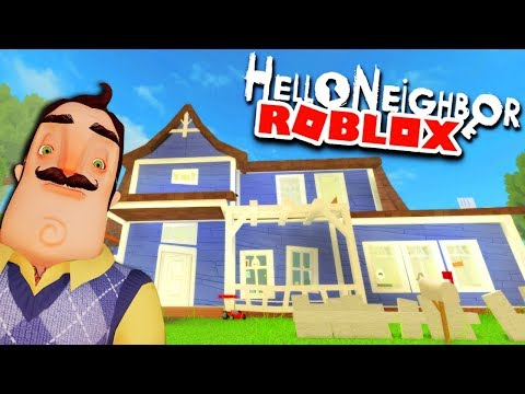 AMAZING HELLO NEIGHBOR REMAKE IN ROBLOX! | Roblox Hello Neighbor Gameplay