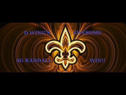 D Wing's World:  AG Randall Win!!