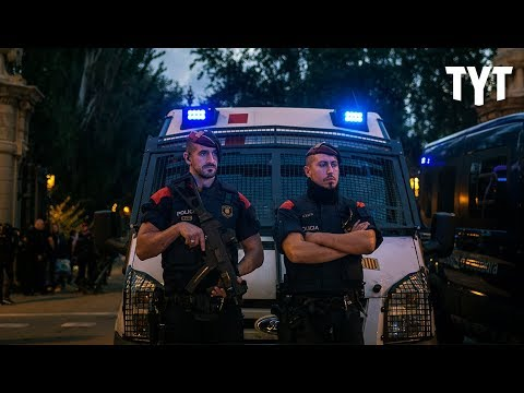 Police State After Catalonia Votes Independence?