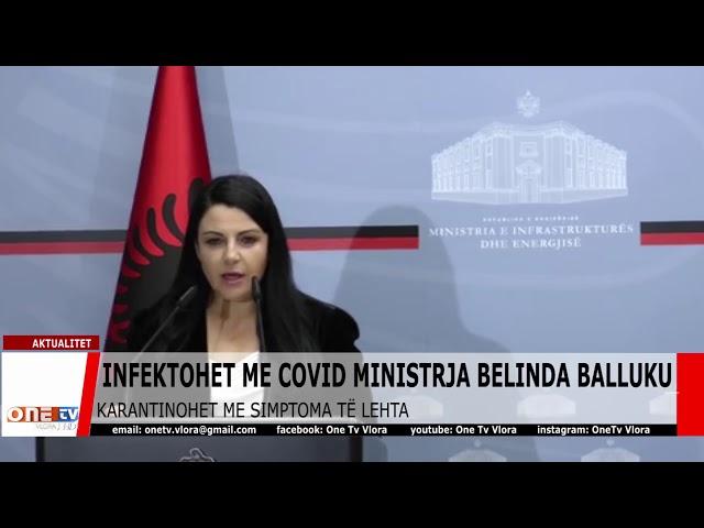 Infektohet me covid ministrja Belinda Balluku. Karantinohet me simptoma të lehta