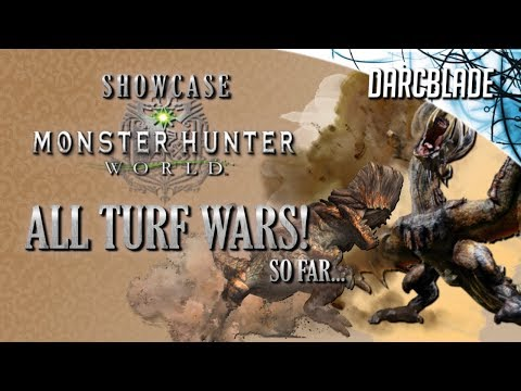 All Turf Wars! : Monster Hunter World (No HUD) thumbnail