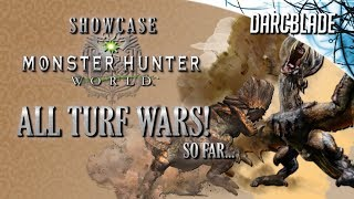 All Turf Wars! : Monster Hunter World (No HUD)