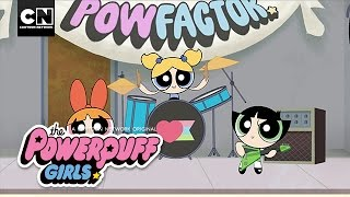 Powerpuff Girls | What's Your POWFACTOR? | Music Video | Cartoon Network