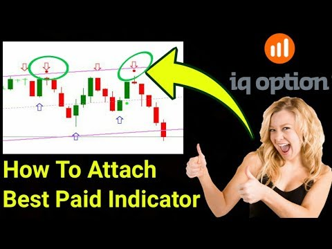 How To Attach Binary Options Best Paid Indicator With MT4 For Iq Option