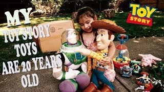We Found Toy Story Toys In The Attic And They Are 20 Years Old