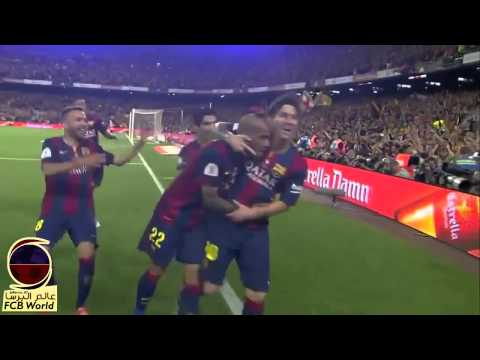 Lionel Messi Goal vs Athletic Bilbao   16 Worldwide Commentaries   Copa del Rey 2015 [HD]