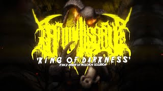 ALL MISERY - KING OF DARKNESS (FT. NICK OF MOLOTOV SOLUTION) [OFFICIAL LYRIC VIDEO] (2020) SW EXCL
