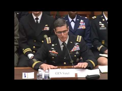 U.S. Rep McSally Questions General Joseph Votel on the A-10's Role in Fighting Against Taliban