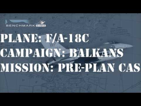 [Falcon BMS] F/A-18C - Balkans war MP Flight (second flight)