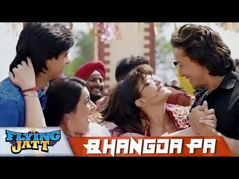 Bhangda Pa Song | A Flying Jatt | Tiger Shroff, Jacqueline Fernandez |  Bollywood Inside Out