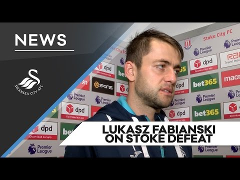 Swans TV - Reaction: Lukasz Fabianski on Stoke defeat