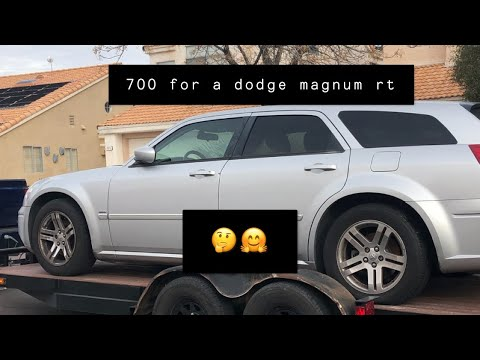 $700 FOR A DODGE MAGNUM RT WHY NOT