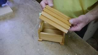 Шкатулка сундучок. Jewelry box