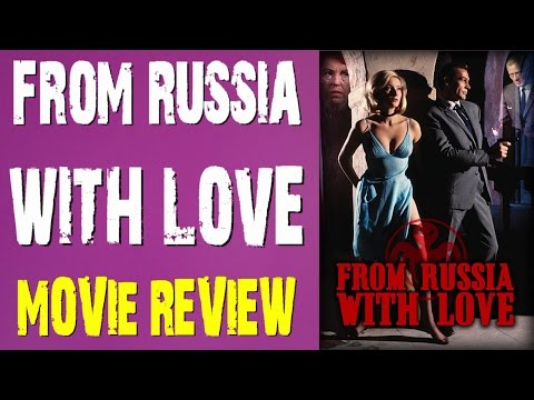 007 James Bond - From Russia With Love film review (Bryan Lomax Movie Talk)