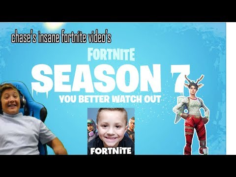 season 7 is finally here!!! playing with chase's insane fortnite videos!!
