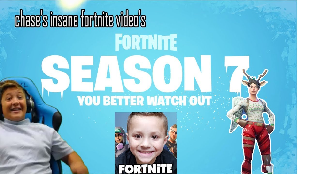 Season 7 Is Finally Here Playing With Chase S Insane Fortnite Videos