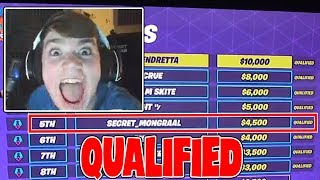 Mongraal | HOW HE QUALIFIED FOR THE WORLD CUP (Fortnite Solo Week 9 Finals)