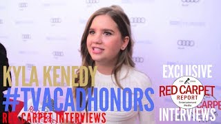 Kyla Kenedy #Speechless interviewed at the 10th Annual Television Academy Honors #TVAcadHonors
