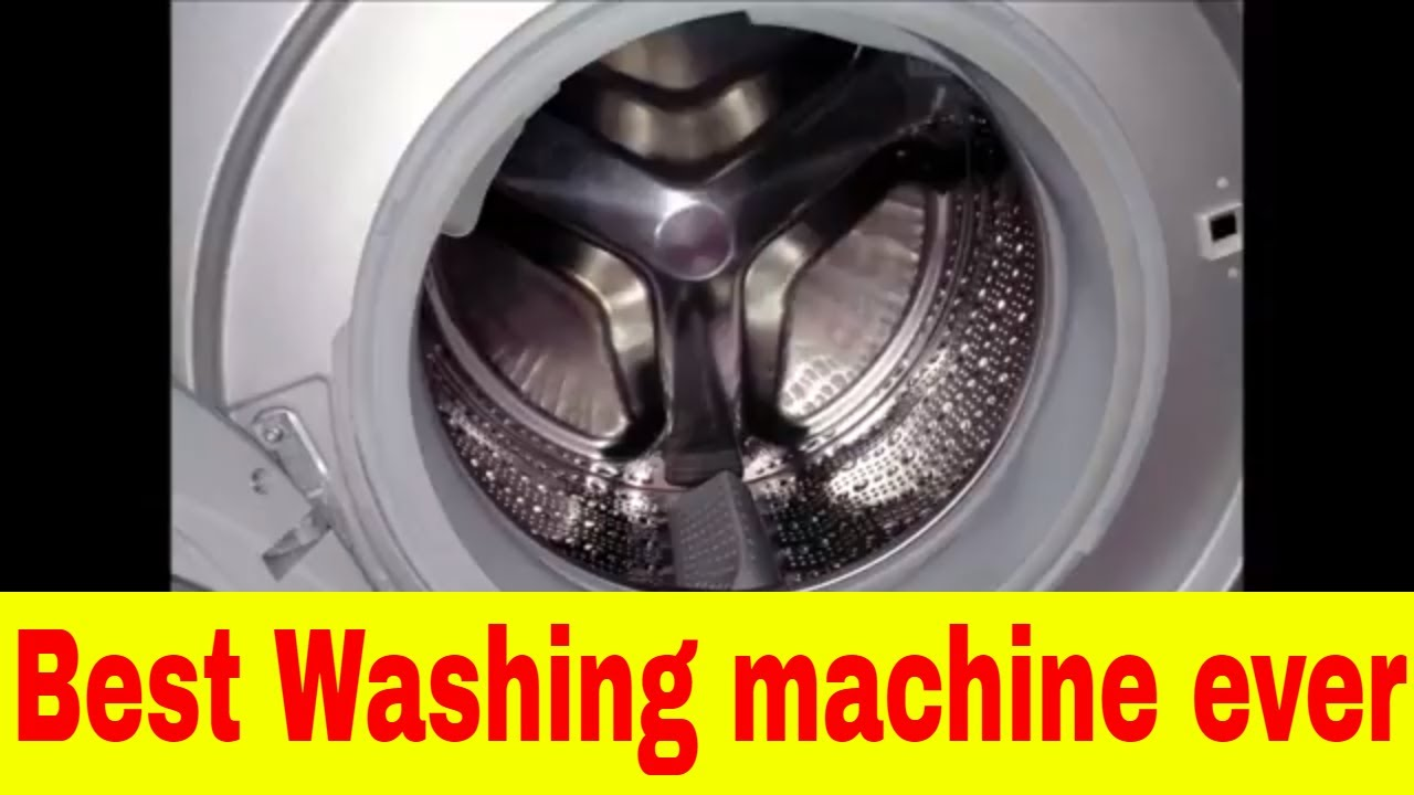 The best Front loader washing machine review - BOSCH ...