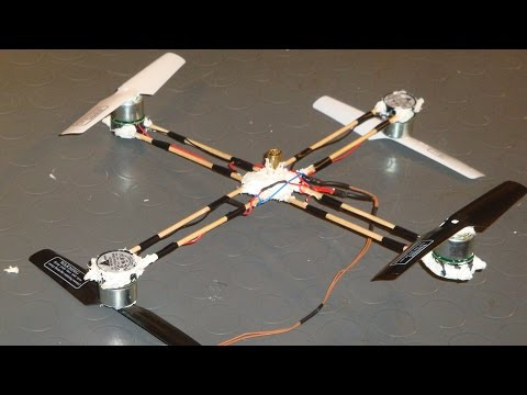 Building a Cheap Quadcopter At Home (1)  - Lift Off