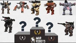 War Robots: TOP 5 Heavy Robots [Mortal CombatS]