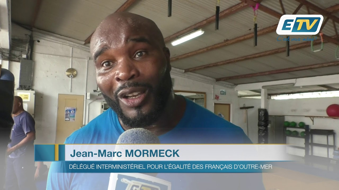 Un cours de boxe donné par...Jean-Marc Mormeck !