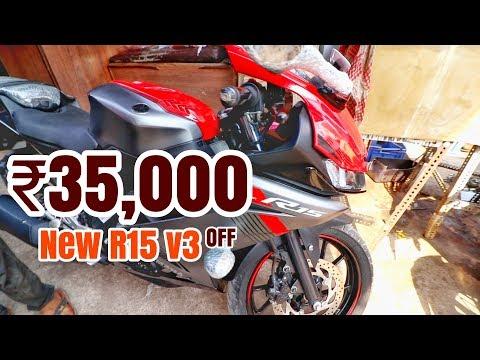 ₹35,000 OFF ON BRAND NEW YAMAHA R15 v3 | BIKE MARKET DELHI