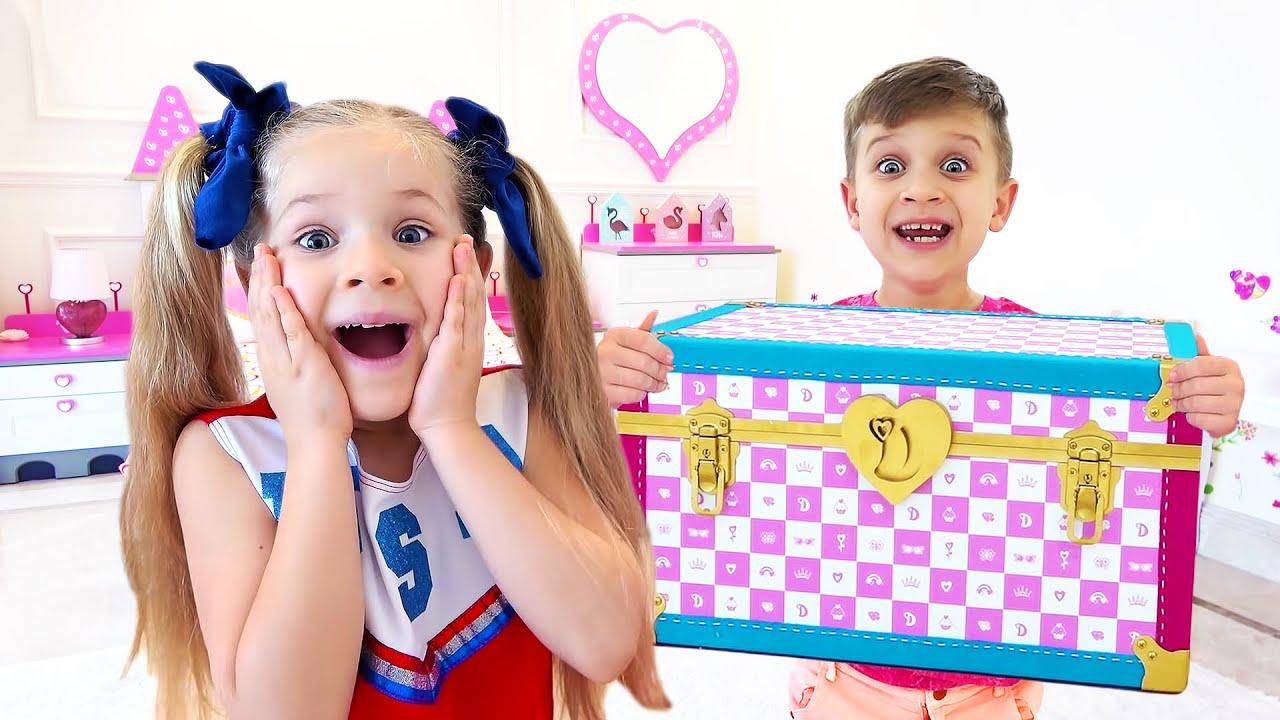 ديانا والصندوق السحري - ديانا وروما يتأنقان في حفلة ديسكو!