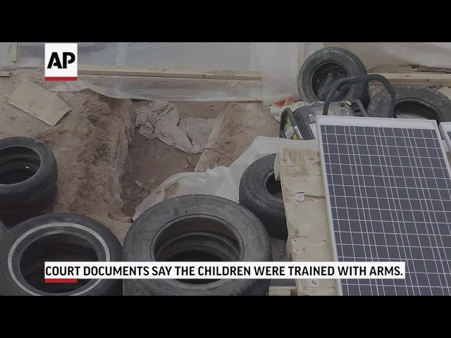 FBI arrests 5 from New Mexico compound on firearms charges