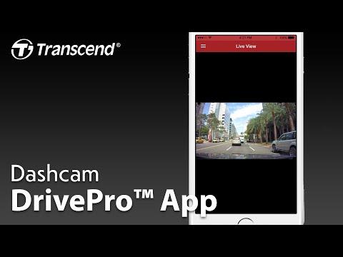 Transcend DrivePro App