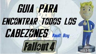 Encontrar todos los cabezones de Fallout 4 GUIA de Busqueda Vault boy