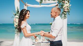 Свадьба в Доминикане с живыми цветами
